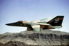F-111 from Mountain Home AFB, Idaho.