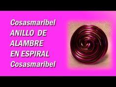 Video - Tutorial: Anillo de aluminio en espiral.