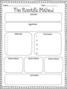 1000+ ideas about Scientific Method Worksheet on Pinterest ...