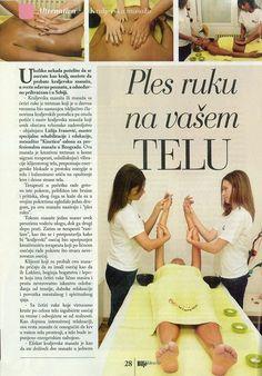 Tekst o kraljevskoj masaži u časopisu Bilje i Zdravlje