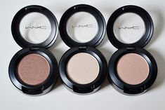 Mac Eyeshadows in Sable, Shroom, and Naked Lunch! www.lustforlipgloss.com