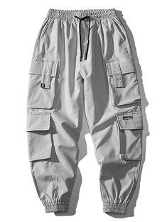 Jogger Pants Style, Mens Jogger Pants, Cargo Pants Men, Dickies Pants, Harem Pants, Teen Fashion Outfits, Fashion Pants, Cool Outfits, Trendy Fashion