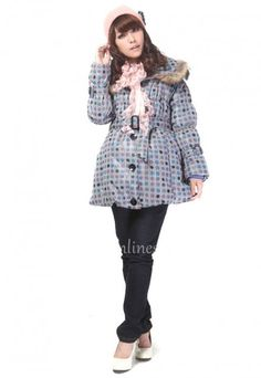Grey Maternity Winter Cotton Hooded Jacket with Multicolor Dots [Maternity Outerwear] - $109.00 : Baby Carry, Corset, Maternity Wears, Women Lingerie | Cheap Online
