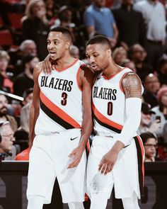 """SLAM on Instagram: """"CJ and Dame have both dropped 50 in three quarters. Most explosive backcourt in the League?"""""""
