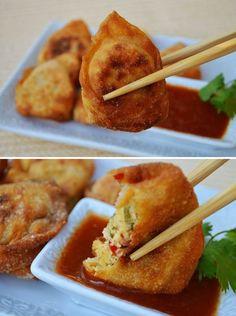 Cashew Rangoon  #Vegan #Recipe