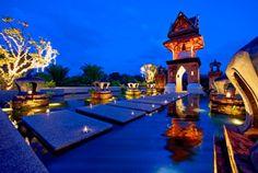 Interior at 5 star hotel: Pullman Khao Lak Katiliya Resort and Spa. This hotel's address is: Moo 1 T.Kuk-Kak Bangsak Beach Khao Lak 82190 and have 223 rooms Top Hotels, Hotels And Resorts, Best Hotels, Phuket Resorts, Bangkok, Jet Privé, Khao Lak Beach, Paradise Hotel, Thailand Photos