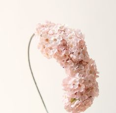 Pink floral headpiece Bridal hair Bridal head piece by whichgoose, $60.00