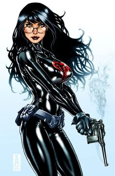 Comic Book Kingdom: The Baroness - G.I. Joe - Marvel Comics