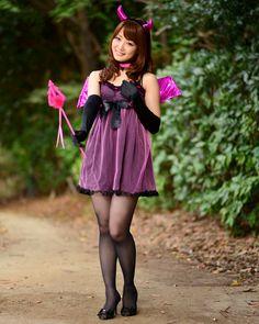 上川床美紀さん │ ハロウィン特集 小悪魔デビルの仮装・コスプレ