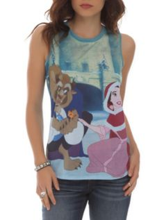 Disney Beauty And The Beast Snow Girls Tank Top  http://www.hottopic.com/hottopic/PopCulture/Cartoons/Disney/Disney+Beauty+And+The+Beast+Snow+Girls+Tank+Top-10083933.jsp