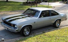 1976 Chevy Nova SS  Muscle Car, had one of these with a 305 V 8 and a 3 speed manual shifter.