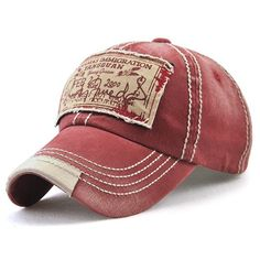 Competitive Wine Red Hats online, mobile Gamiss offers you Bahamas Handwritten Letters Applique Embellished Baseball Hat at $9.65, we also offer Wholesale service.