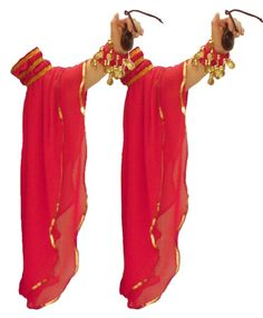 Mangas Ciganas Vermelha