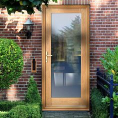 Made to Measure Exterior Full Pane Door - Fit Your Own Glass. #doortoorder #madetomeasuredoor #oakdoortoorder