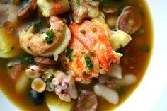 mocoto de frutos do mar