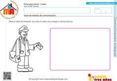 Uso de los medios de comunicación: comunicación integral 3 años - Material de Aprendizaje