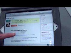 Downloading ebooks to devices: http://www.youtube.com/watch?v=oGsPiVJtQS0