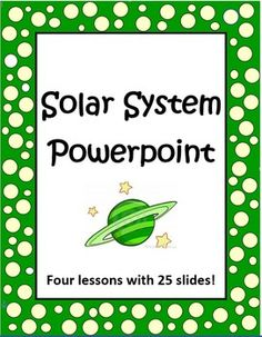 Looking for a complete set of PowerPoint lessons about the solar system? This is it! This set of four Solar System PowerPoint lessons will help you teach the basic concepts of space. It includes 4 big lessons with a total of 25 slides. Eye catching photos will engage your students! Suggested grades are 3 - 7.