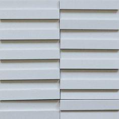 Brogliato Revestimentos - Coleções - 3D Mosaic - D050 Branco Atenas - 30x30cm.