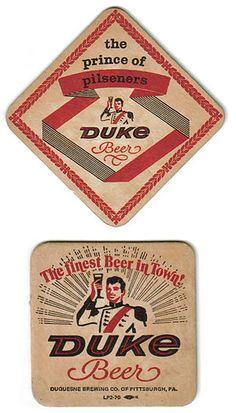 vintage Duke beer