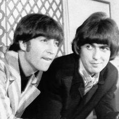 Harrison and Lennon R.I.P. Lads