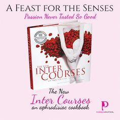 Aphrodisiacs are foods, smells, and flavors that are believed to increase sexual desire or arousal. The most commonly acknowledged are strawberry and chocolate. Check out our gorgeous aphrodisiac cookbook! www.buzzinbetty.com