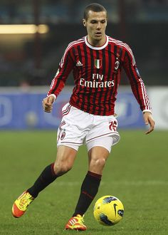 Djamel Eddine Mesbah (born 9 October 1984 in Zighoud Youcef) is an Algerian professional footballer who plays as a left back for the Italian Serie A club A.C. Milan. An Algerian international, Mesbah was a member of the Algeria national team at the 2010 FIFA World Cup in South Africa.