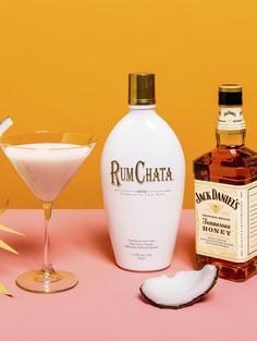 RumChata Caribbean Cream 1 part RumChata 1 part Jack Daniel's Tennessee Honey 1 part Coconut Vodka Combine in a shaker with ice. Strain into martini glass. Salted Caramel Martini, Caramel Vodka, Drinks Alcohol Recipes, Yummy Drinks, Alcoholic Drinks, Drink Recipes, Bar Recipes, Jack Daniels Honey Drinks, Rumchata Cocktails