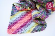 Free Pattern from Every Trick on the Hook: Moss Stitch C2C Blanket
