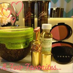 A few favorites in the beauty department...