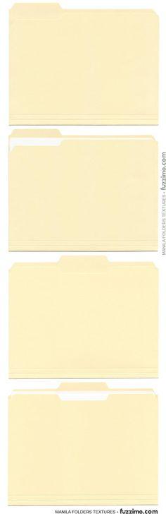Free Download  Mini File Folder Template  Paper Crafts