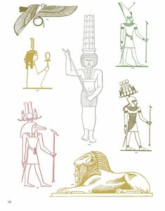 Egyptian Vector Motifs Dover Publications