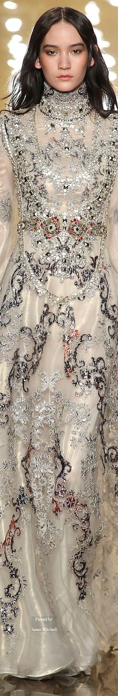 Reem Acra Collections Fall Winter 2015-16 collection jaglady