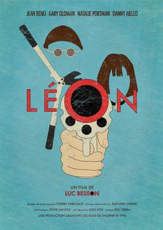 Léon: The Professional (1994) Minimal Poster, Minimal Movie Posters, Best Movie Posters, Movie Poster Art, Cinema Posters, The Professional Movie, Leon The Professional Mathilda, Film Noir, Vintage Films