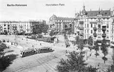 BERLIN-Halensee um 1905, Kurfürstendamm 114-118, am Henriettenplatz