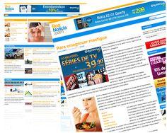 Criação e desenvolvimento de novo layout para blog de variedades.