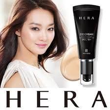 HERA CC Cream SPF35/PA++ - moja najlepsza przygoda z azjatyckimi kosmetykami ~ Lepsza wersja samej siebie