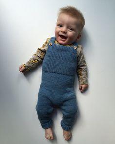Albert jakke, bukse og lue str 6 mnd. Strikkeriet mitt