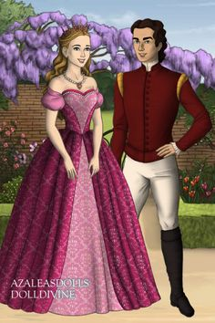 Clara the Sugar Plum Princess and Eric the Nutcracker Prince from Barbie in The Nutcracker