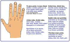 básnička ruce
