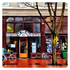 Sisters of the Road Cafe ~  133 NW 6th Ave, Portland, OR 97209 ~ (503) 222-5694 Hours: 9:00 am – 5:00 pm ~ Barter food for chores