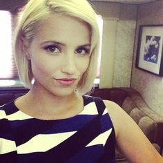 diannaagron Back in my trailer. Back in her dresses…