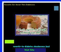 Bizcocho Sin Azucar Para Diabeticos 185938 - Aprenda como vencer la diabetes y recuperar su salud.