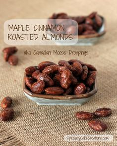 Canadian Moose Droppings – Maple Cinnamon Roasted Almonds
