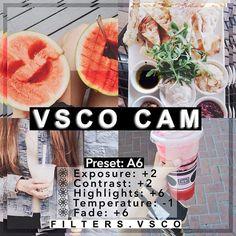 """50 """"công thức"""" cần biết để chỉnh sửa ảnh đẹp trên VSCO – Phần cuối"""