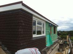loft conversion flat roof dormer in build #8