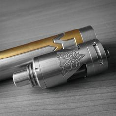 The Kraken v2.5 RTA and Two-Tone Phenom Mech Mod by Vicious Ant