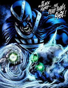 Black Hand - Black Lantern