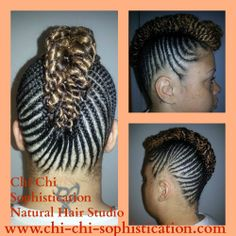 Styled by Ms. Trina. Looking for a mean Natural Up-do now that the ...