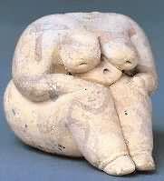 Seated Goddess Çatalhöyük. Neolithic